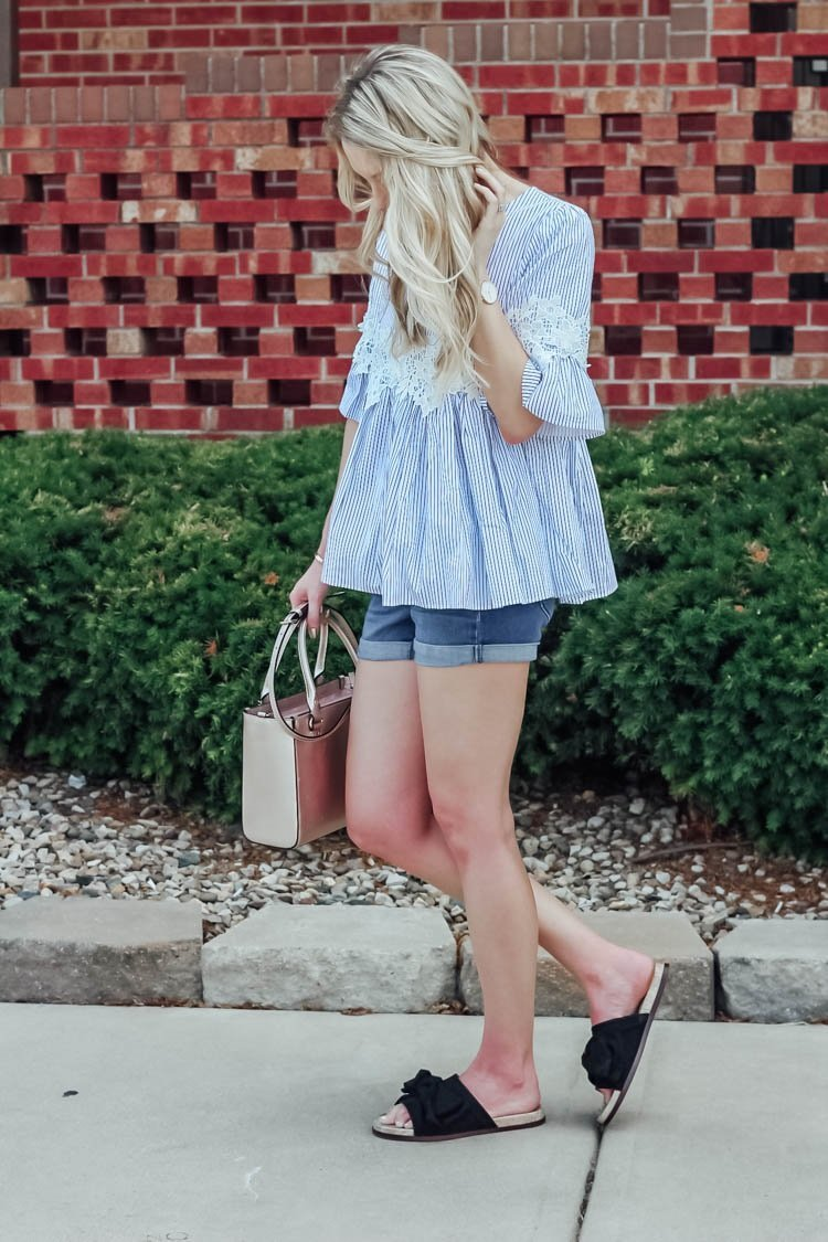 striped dolly top